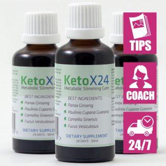 Ketox24 Afslankdruppels voor 72 dagen