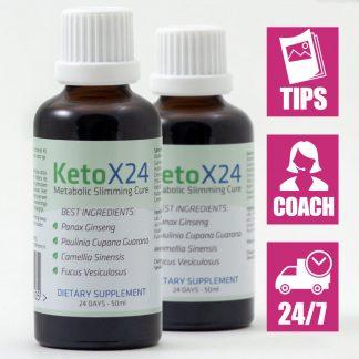 Ketox24 Afslankdruppels voor 48 dagen
