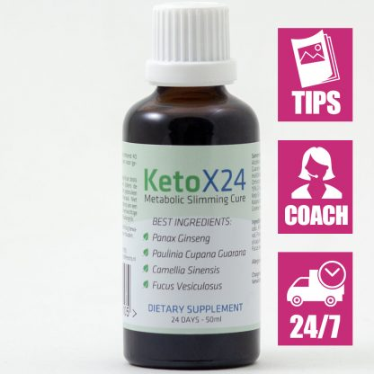Ketox24 Afslankdruppels voor 24 dagen